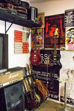 Diana & Mik's Pop Art Inspired Family Home-organized studio