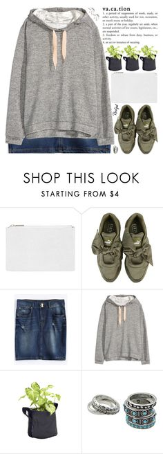 """""""i'm not going to give up hope i know that things are going to get better"""" by exco ❤ liked on Polyvore featuring Whistles, Puma, H&M, clean, organized and rosegal"""