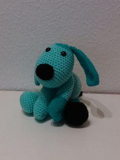 Grøn lille hund