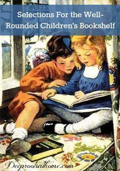 60 Titles For the Well-Rounded Children's Bookshelf
