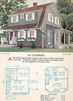 Dutch Colonial Revival Bungalow A gambrel-shaped roof give this ...