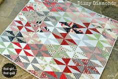 Looking for your next project? You're going to love Dizzy Diamonds by designer That Girl....