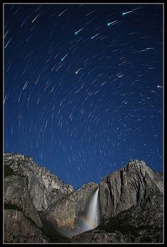 Stars over Yosemite   Flickr: Intercambio de fotos