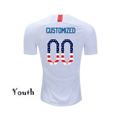 92a7e1f5da3 2017 2018 Clint Dempsey Men s Red Jersey USA Independence Day ...