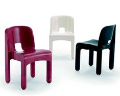 joe Colombo, chaises Universale, 1967