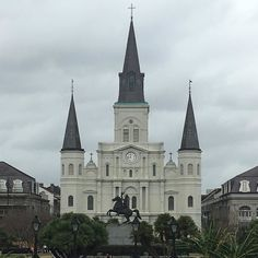 St. Louis Cathedral New Orleans #frenchquarter by arejames