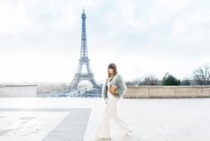 Instagram Spot: A view from The Trocadéro, where the Eiffel Tower can be spotted // Photogenic Spots in Paris