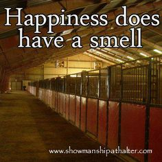 Happiness does have a smell