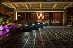 W Hotel Hong Kong Audi Q7 fleet