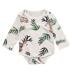 Newborn Infant Baby Boy Girl Dinosaur Hooded Romper Jumpsuit Outfits Clothes Long Sleeve Solid Baby Rompers Casual Comfortable To Adopt Advanced Technology Rompers