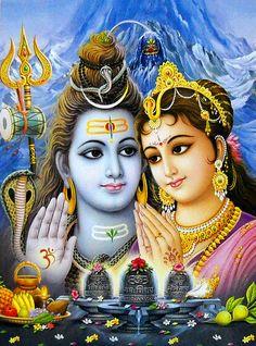Shiva e Parvathi
