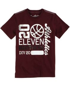 Brothers dark red 20 eleven basketball t shirt #Brothers #Justice #boys #basketball #tshirt