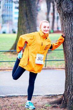Evanna Lynch at the United NY Half Marathon, 20 Mar. 2016