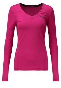 Sport Nike Performance PRO - T-shirt à manches longues - sport fuchsia/black rose: 30,00 € chez Zalando (au 10/03/16). Livraison et retours gratuits et service client gratuit au 0800 740 357.