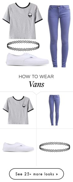 """"""""""" by jennicakes599 on Polyvore featuring Chicnova Fashion and Vans"""