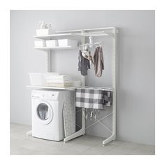 IKEA ALGOT Post/foot/drying Rack White Cm The Parts In The ALGOT Series Can  Be Combined In Many Different Ways And So Can Easily Be Adapted To.