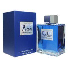 Antonio Banderas Blue Seduction Masculino Eau de Toilette - The Beauty Box