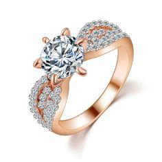 Six-Claw Gem Ring