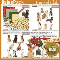 Value Pack: Kennel Club by Elisha Barnett @ ScrapGirls.com