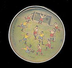 "1920s Soccer ""pinball"" Hand Held Game"
