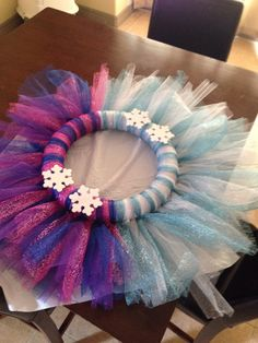 Kinleys Anna/Elsa wreath