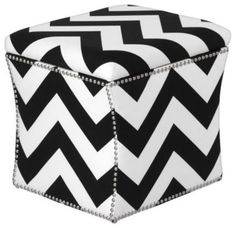 modern ottomans and cubes by Z Gallerie