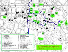 San Antonio Hotel Map - Best Map of Riverwalk Hotels - San Antonio Insider