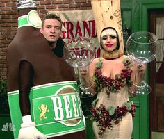 Why not try a couples costume like Justin Timberlake and Lady Gaga on SNL?