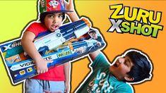 zuru xshot vigilante toy gun unboxing Play Doh, Kids Toys, Guns, Children, Disney, Childhood Toys, Weapons Guns, Young Children, Boys