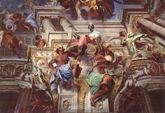 The Apotheose of S. Ignazio, Fresco, 1688-90,, Andrea Pozzo