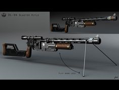 ne of the first things I did on Solo, at Prop Master Jamie Wilkinson's request, was develop add ons that turned Solo's blaster into a full