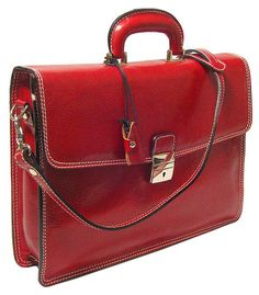 Floto Milano Brief, Leather Women's Briefcase