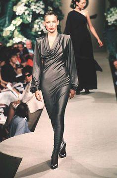 Yves Saint Laurent - Haute Couture - Fall / Winter 1998 | Esther Cañadas