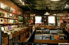 Records store