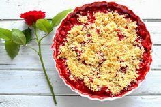 Truskawki 🍓 pod kruszonką, ale z maki kukurydzianej 🍓❤😍 ---> Zapraszam do odwiedzenia mojej strony na fb https://www.facebook.com/eatdrinklook/ ------->   A strawberry crumble 🍓 but with corn flour 🍓❤😍 ---> I invite you to visit my page on fb https://www.facebook.com/eatdrinklook/
