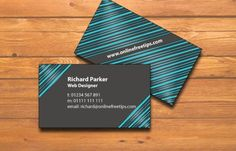 Blue Ocean Business Card Business Marketing, Business Cards, Social Networks, Social Media, Glass Shower Doors, Hospitals, Web Development, Designer, Giveaway