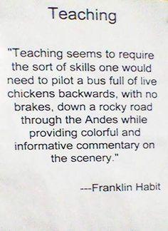 Click the link for some teaching humor. Teacher Humour, My Teacher, Teacher Stuff, Math Humor, Teacher Shirts, The Words, Teaching Memes, Teaching Skills, Teaching Strategies