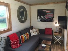 This Quirky Container Home is Only 20 Feet Long, But Wait Til You See the Inside