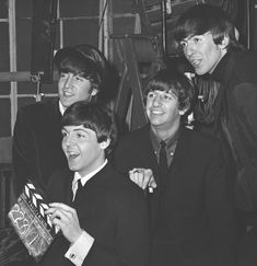 A new book contains never-seen-before images of the Fab Four making the classic jukebox musical in 1964.