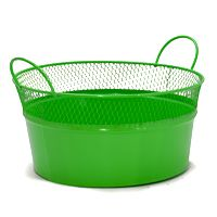 Green Baskets for St. Patty's Day