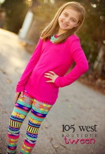 """""""Josie Beth"""" Leggings.  $12.99.  Small/Medium size is equivalent to a 4-8 Large/X Large size is equivalent to a 10-14 Sizing is in  GIRLS not womens. ~ 105 West Boutique located in Abbeville, SC.  (864) 366-WEST.  Shipping $5.  Look for us on Facebook!"""