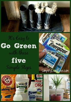 5 Easy Steps Everyone Can Do for Greener Living that aren't hard, time consuming, or cost a lot of money! #BringingInnovation #CollectiveBias #ad