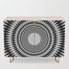 Hypno Zone Credenza by Office Cabinets, Walnut Finish, Mid-century Modern, Mid Century, Shelves, Bar Carts, Tv Stands, Storage, Birch