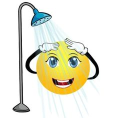 Showering Smiley