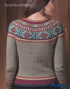 "Photo from album ""Vogue Knitting Winter on Yandex. Vogue Knitting, Knitting Magazine, Crochet Magazine, Fair Isle Knitting, Native American Fashion, Sweater Knitting Patterns, Knit Fashion, Pulls, Sweaters For Women"