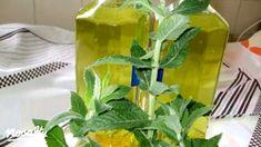 Mentaszörp Olaszné Ancitól   Nosalty Ginger Juice, Celery, Glass Vase, Brunch, Stuffed Peppers, Vegetables, Fruit, Drinks, Plants