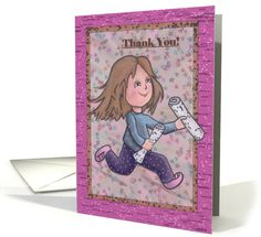 Thank You! For the Newspaper Girl card.  Tell your newspaper girl how thankful you are for her dedication to her job. http://www.greetingcarduniverse.com/occasions/thankyou/occupationspecific/newspapercarrierpaperboy/thank-you-for-the-newspaper-1321968?gcu=86811556481