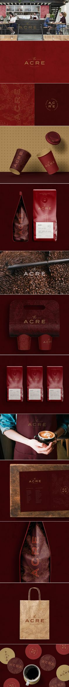 Acre coffee company branding and packaging by monajans | Fivestar Branding Agency – Design and Branding Agency & Curated Inspiration Gallery  #coffee #branding #logo #design #packaging #identity #brandinginspiration #behance #pinterest #dribbble #fivestarbranding