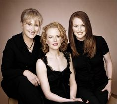 The Hours - Meryl Streep - Julianne Moore - Nicole Kidman