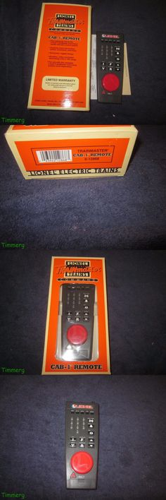Track 47437: Lionel Trains 6-12868 Tmcc Cab-1 Remote Control Controller W Ob -> BUY IT NOW ONLY: $99.99 on eBay!